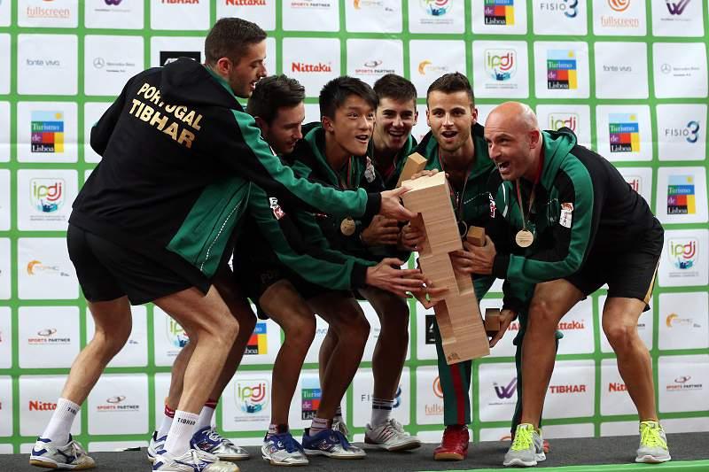 Portugal campeão da Europa de ténis de mesa