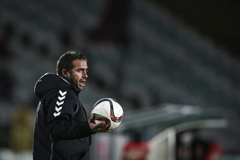 Bruno Ribeiro treina o Vitória de Setúbal