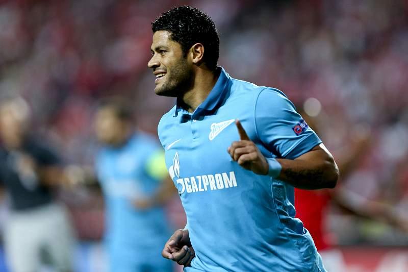 Futebol internacional : Hulk recorda c