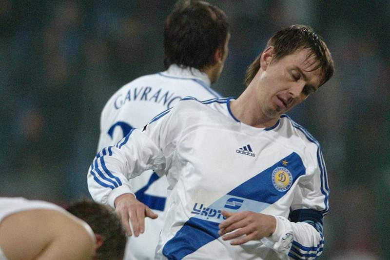 Belkevich, em 2003, no Dinamo de Kiev