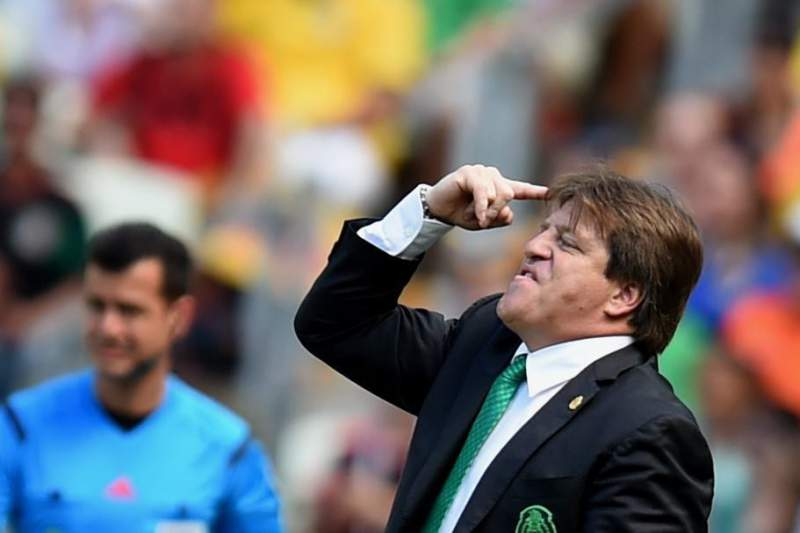 Miguel Herrera ficou furioso com a eliminação