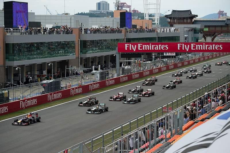 Grande Prémio de Formula 1 na Coreia do Sul