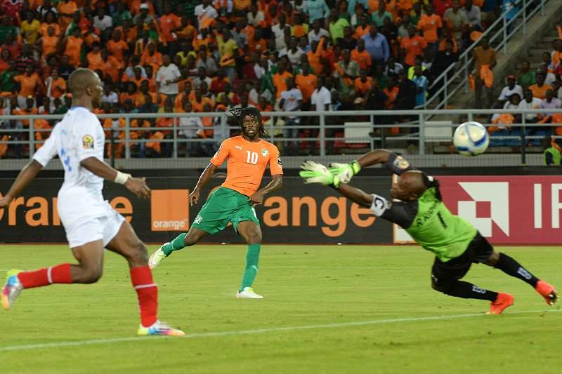 Gervinho é uma das armas da Costa do Marfim