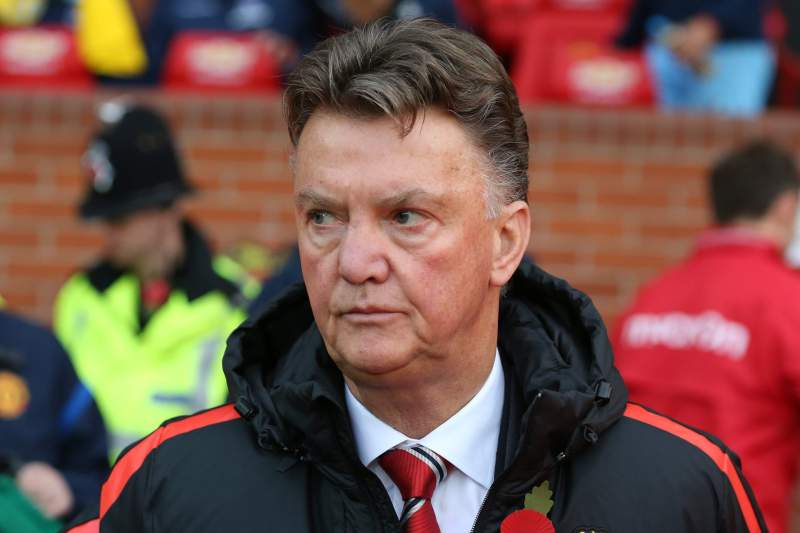 Louis van Gaal, treinador do Manchester United