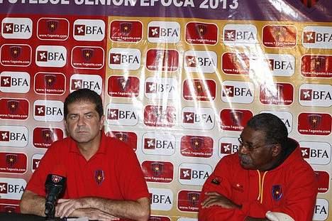 Jovic Dragan,treinador do 1.º de Agosto