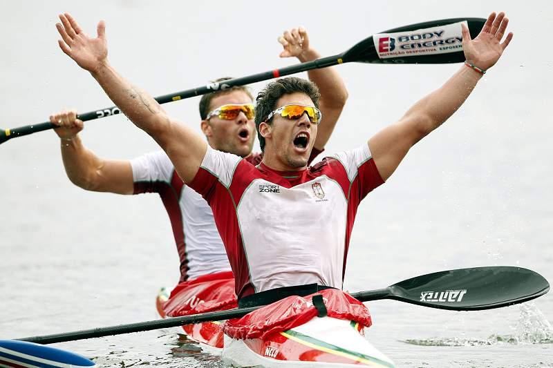 Canoagem/K2: Emanuel Silva e João Ribeiro