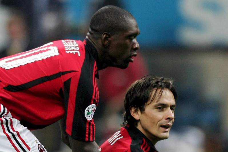 Filippo Inzaghi oficializado no AC Milan
