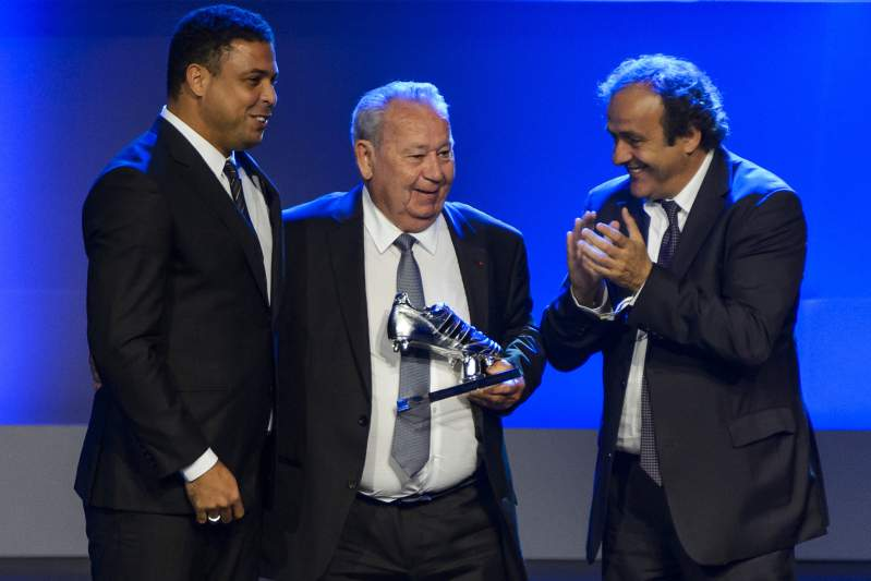 Just Fontaine, Ronaldo Nazário e Platini