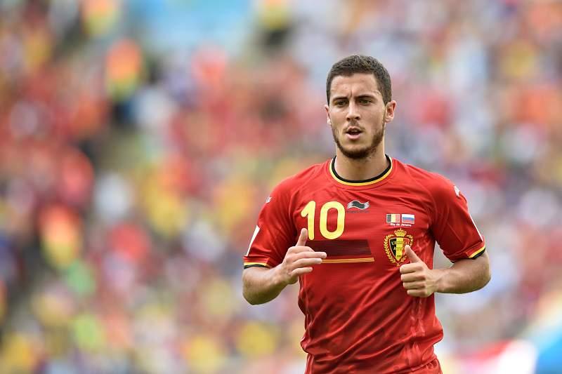 Hazard decisivo na Bélgica
