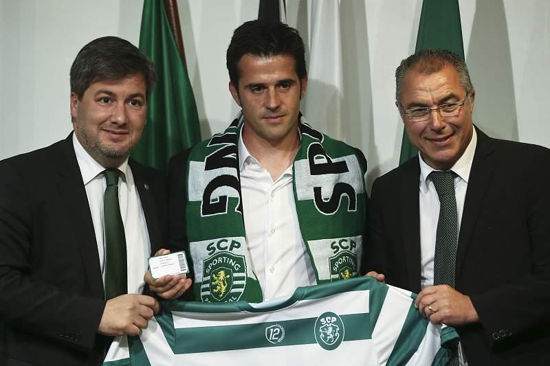 Apresentação de Marco Silva como novo treinador do Sporting
