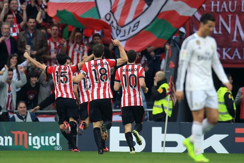 Real Madrid cai no País Basco e fica à mercê do Barcelona