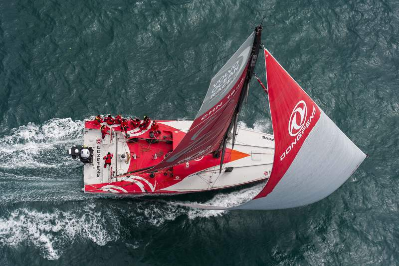 Dongfeng na Volvo Ocean Race