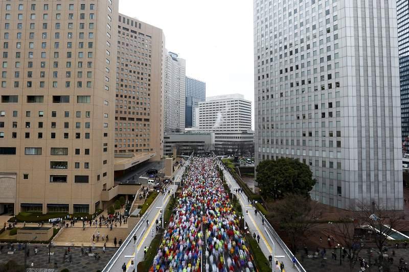 Marathon in Tokyo