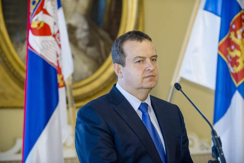 Foreign Minister of Serbia Ivica Dacic visits Finland
