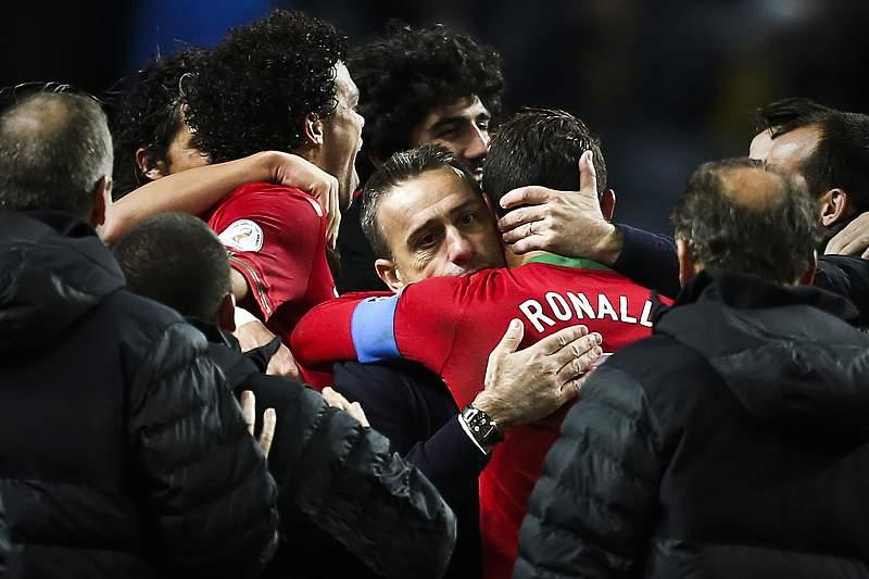Paulo Bento e Ronaldo