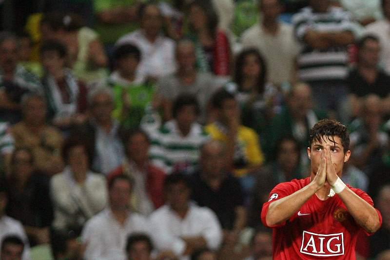 Ronaldo pede desculpa aos adeptos do Sporting.