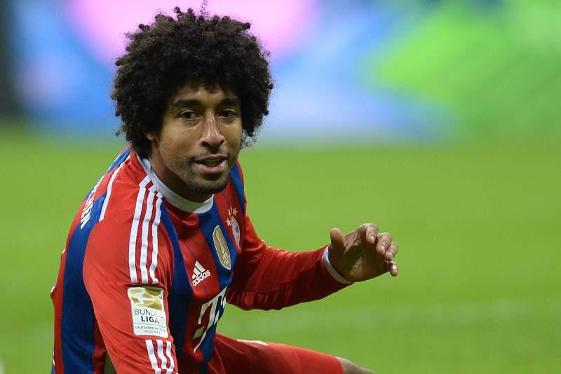 Dante após um lance com o Bayern Munique