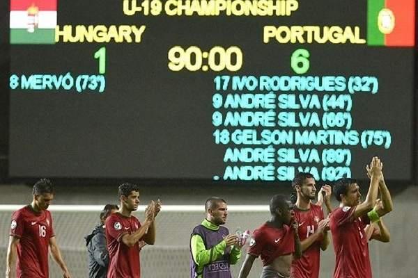 Portugal-Hungria: Sub-19