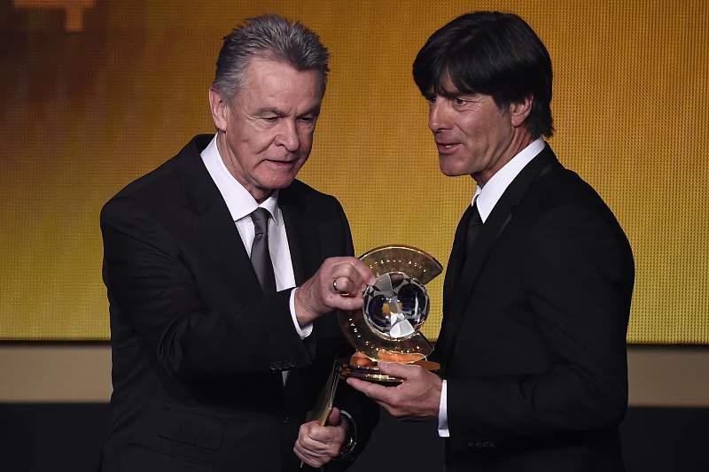 Ottmar Hitzfeld e Joachim Low