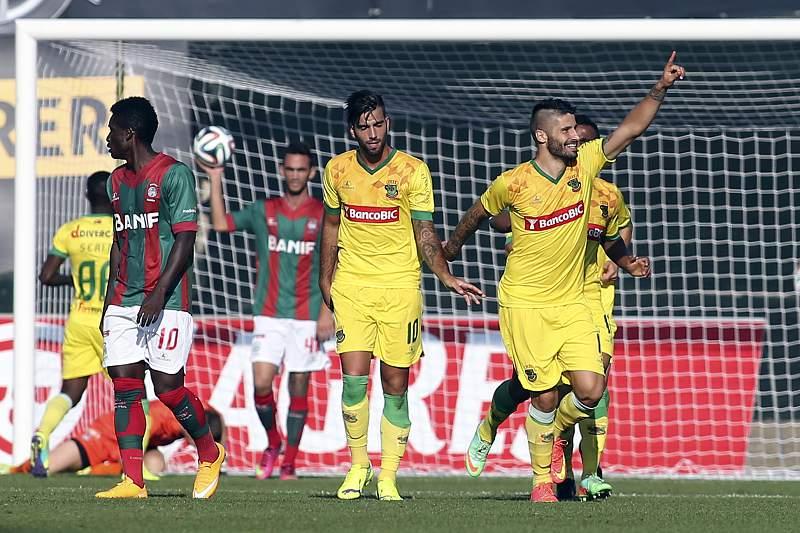 Bruno Moreira decisivo diante do Marítimo