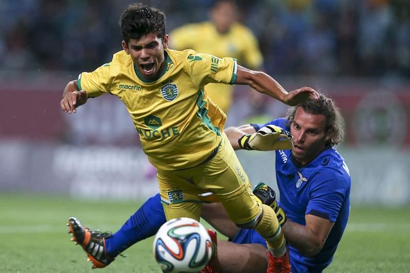 Andre Martins no Sporting - Lazio