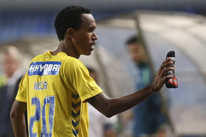 Kuca celebra um golo frente à Académica