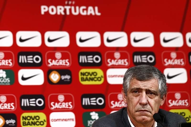 O ataque de riso de Fernando Santos