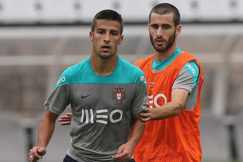 Rafa e Rúben Pinto na seleção de sub-21