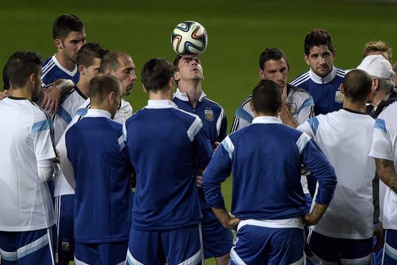 Argentina prepara-se para a estreia no Mundial 2014