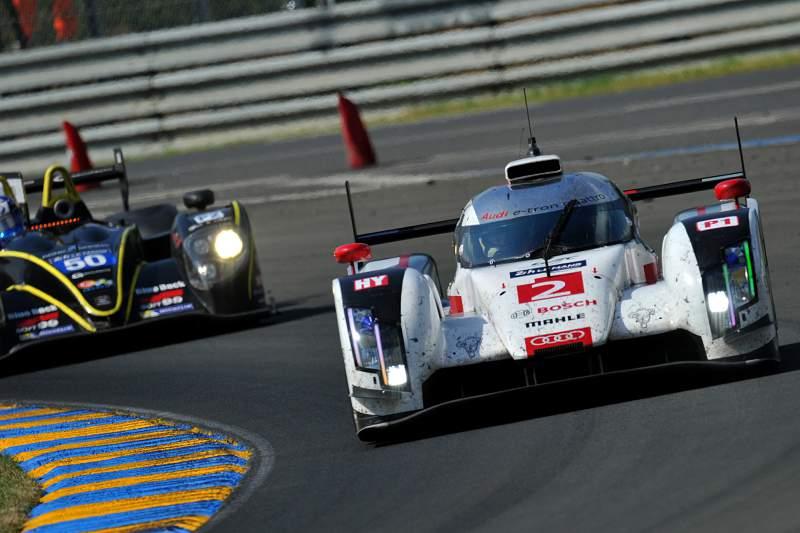Audi dominou as 24 Horas de Le Mans
