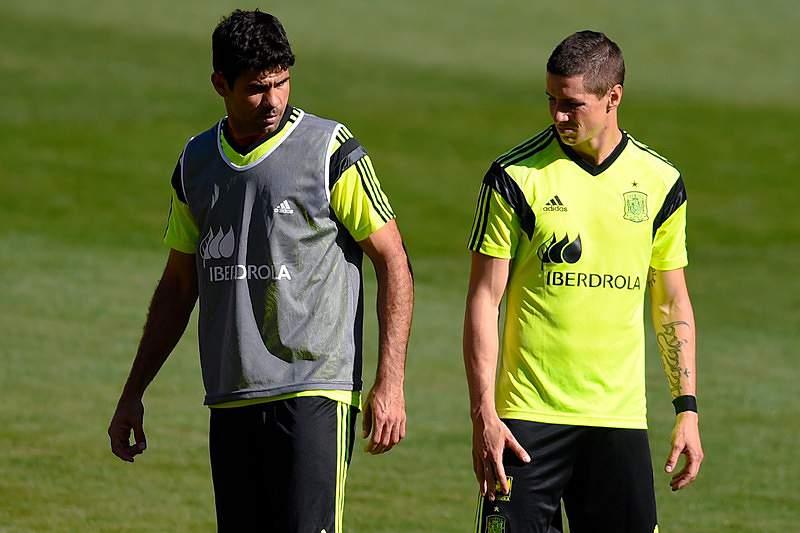 Diego Costa e Fernando Torres