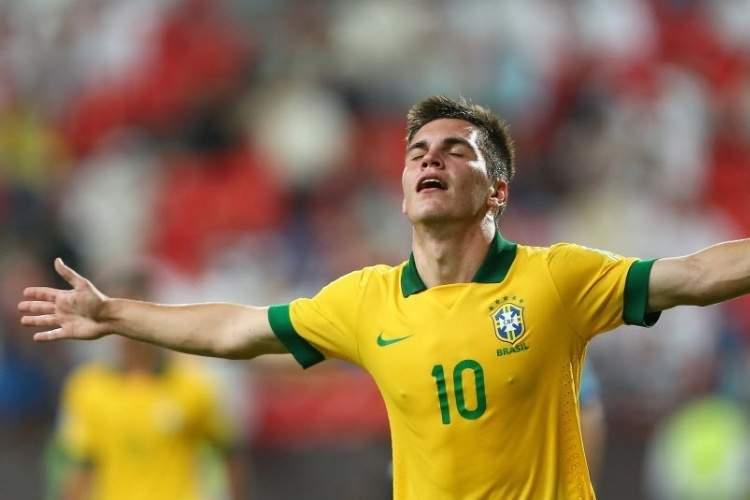 Nathan ao serviço da seleção sub-20 do Brasil