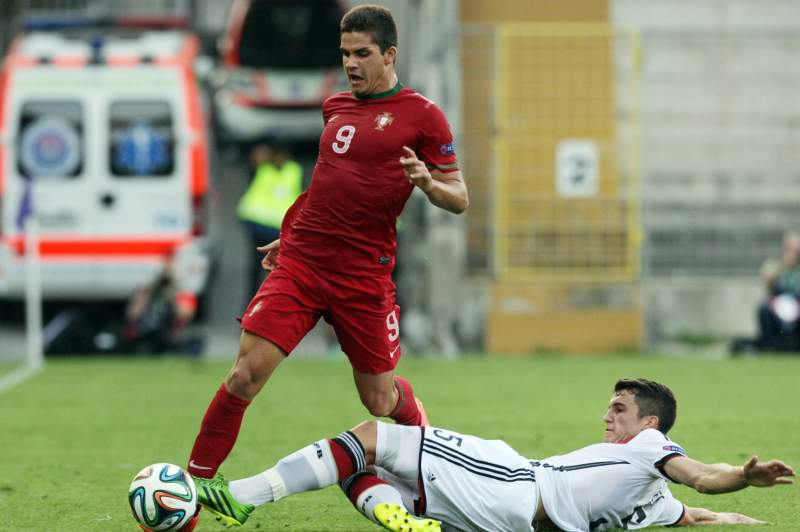 André Silva brilhou no Euro Sub-19