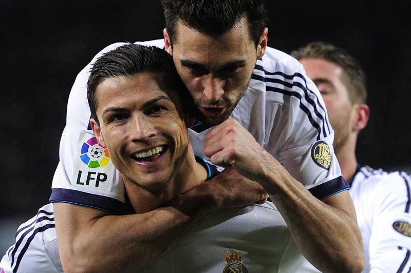 Arbeloa e Cristiano Ronaldo