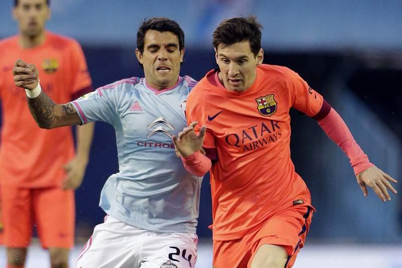 Messi no Barcelona-Celta de Vigo