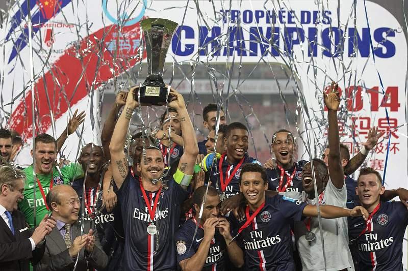 Paris Saint-Germain conquista Supertaça de França