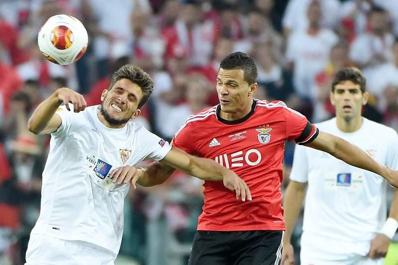 Final Liga Europa Lima e Daniel Carriço