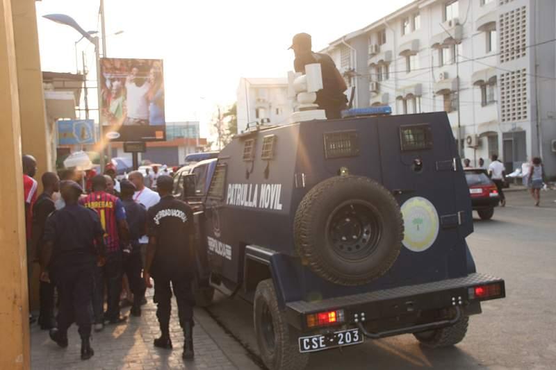 Polícia na Guiné Equatorial