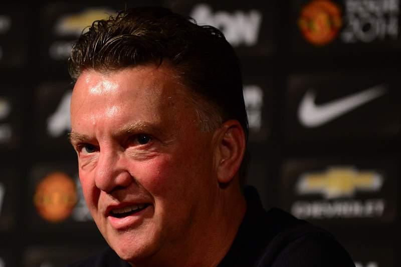 Van Gaal, treinador do Manchester United