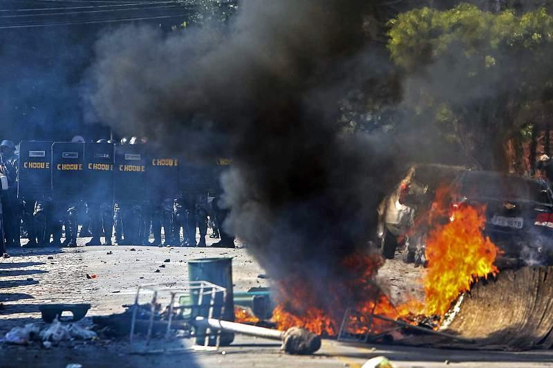 Protestos em São Paulo fizeram vários feridos