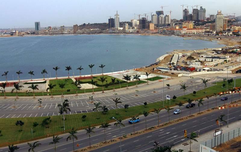 A baía de Luanda sofreu grandes transformações na última década