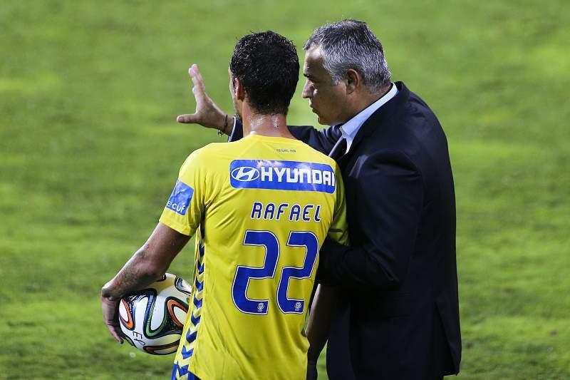 José Couceiro dá indicações a Rafael