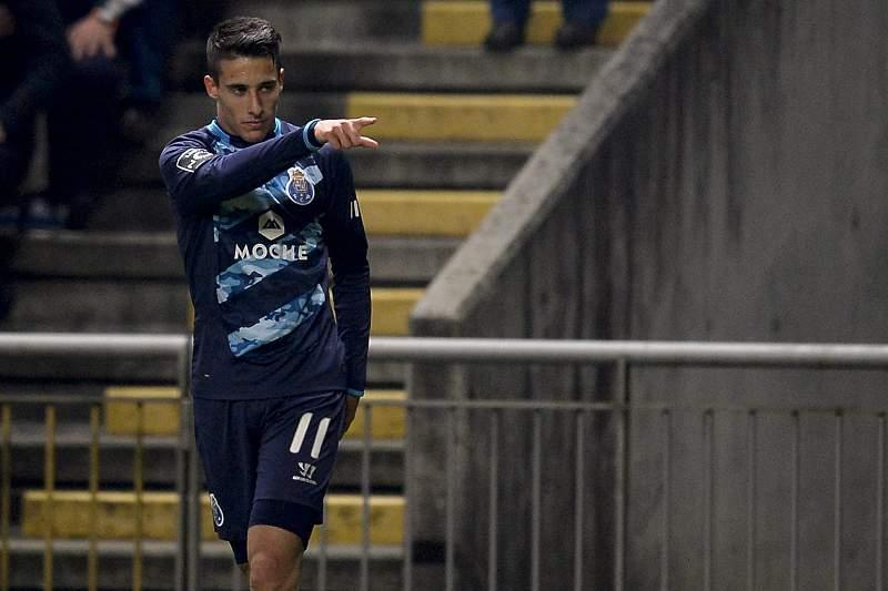 Tello festeja golo marcado em Braga