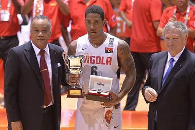 Carlos Morais foi o MVP no último Afrobasket