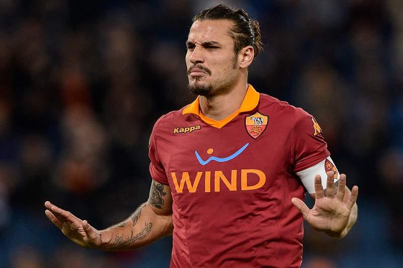 Pablo Osvaldo com a camisola da AS Roma