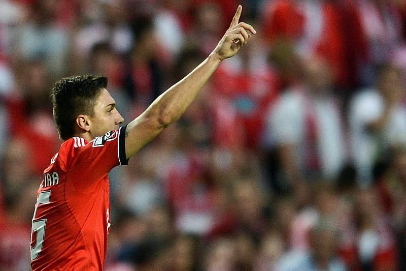 Siqueira representou o Benfica em 2013/2014