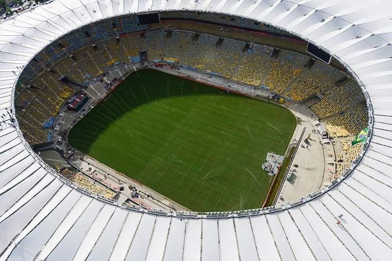 Novo estádio do Maracanã