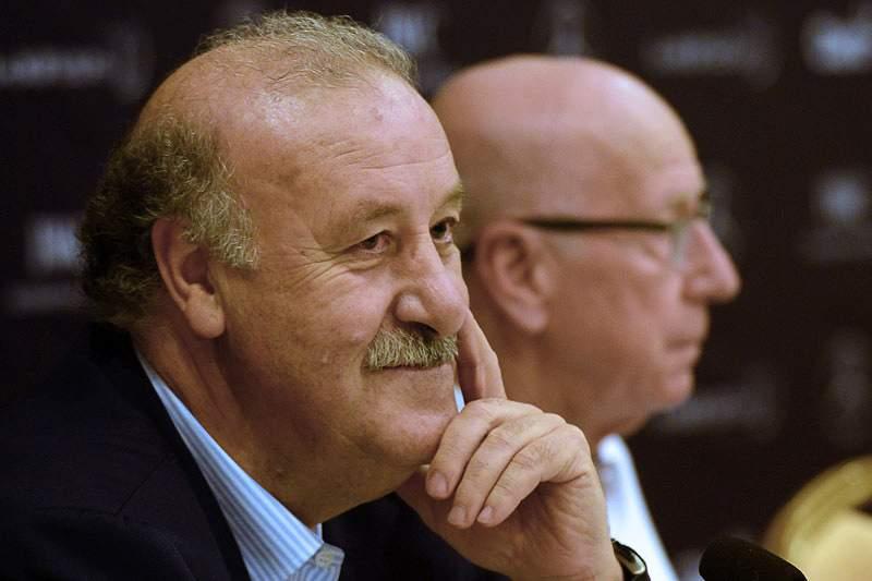 Vicente del Bosque fala em despedida digna