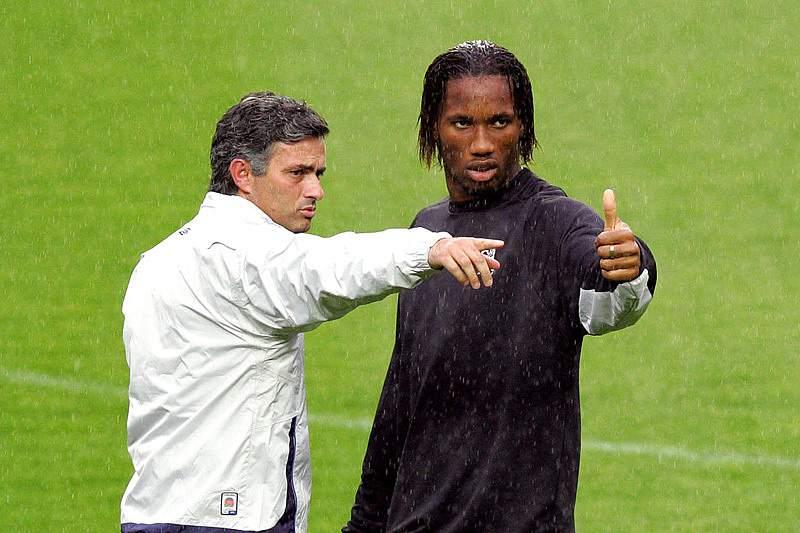 Mourinho e Drogba