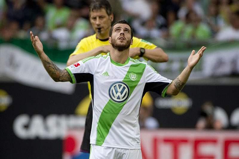 Vieirinha, jogador do Wolfsburgo